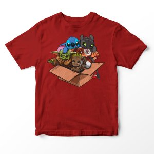 Camiseta Infantil Cute Box