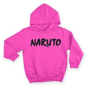 Moletom Com Capuz Infantil Naruto Anime