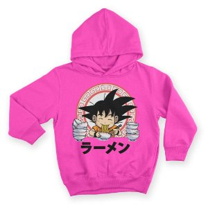 Moletom Com Capuz Infantil Anime Dragon Ball Food