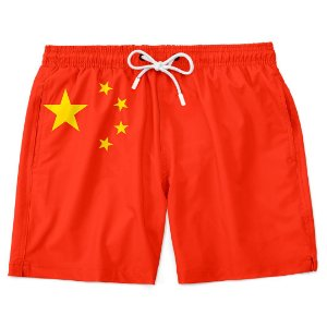 Short Bermuda Praia Bandeira China