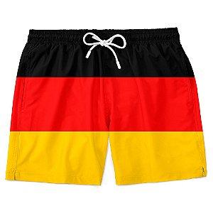 Short Bermuda Praia Bandeira Alemanha