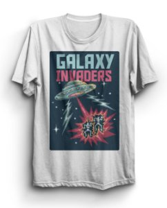 Camiseta Básica Galaxy Invaders