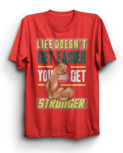 Camiseta Básica Stronger Academia