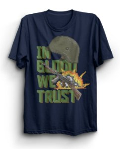 Camiseta Básica In Blood We Trust