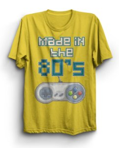 Camiseta Básica Made In The 80'S
