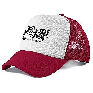 Boné Trucker Telinha Anime Nanatsu no Taizai