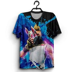 Camiseta 3d Full Jogo Fortnite Raposa