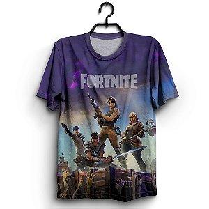 Camiseta 3d Full Jogo Fortnite