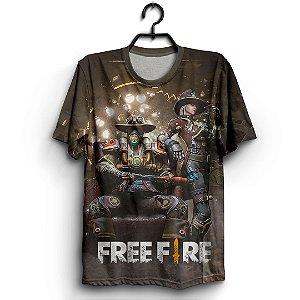 Camiseta 3d Full Jogo Garena Free Fire