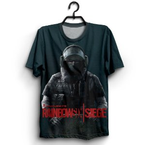 Camiseta 3D Full Jogo Rainbow Six Siege