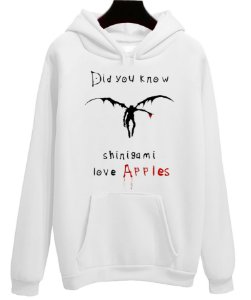 Blusa Moletom Canguru Anime Death Note Shinigami Love Apples