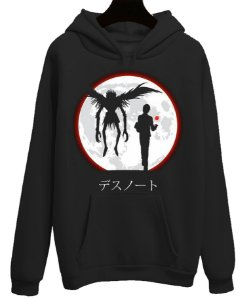 Blusa Moletom Canguru Anime Death Note Moon