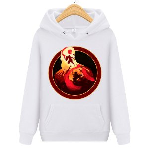 Blusa Moletom Canguru  Jogo God Of War Game