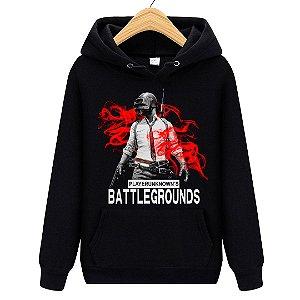 Blusa Moletom Canguru Jogo Pubg Playerunknown's Battlegrounds