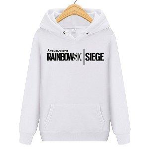 Blusa Moletom Canguru Jogo Rainbow six Logo