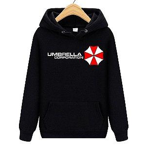 Blusa Moletom Canguru Jogo Resident Evil Umbrella