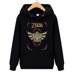 Blusa Moletom Canguru Jogo Zelda