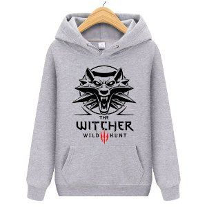 Blusa Moletom Canguru Jogo The Witcher Wild Hunt