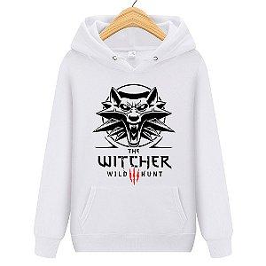 Blusa Moletom Canguru Jogo The Witcher Wild Hunt