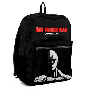 Mochila Bolsa Escolar Anime One Punch Man