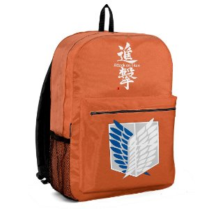 Mochila Bolsa Escolar Anime Attack On Titan