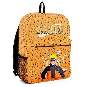 Mochila Bolsa Escolar Anime Naruto Folhas