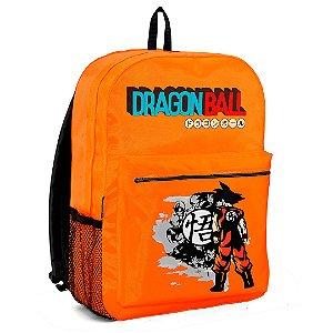Mochila Bolsa Escolar Anime Dragon Ball Goku