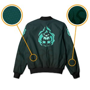 Jaqueta Bomber Com Bolsos Jogo League Of Legends Thresh LoL