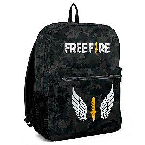 Mochila Bolsa Escolar Jogo Free Fire