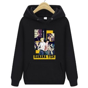 Blusa Moletom Canguru Anime Banana Fish