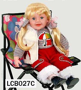 Boneca Importada Little Children 027C menina