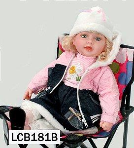 Boneca Importada Little Children 181B menina