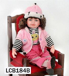 Boneca Importada Little Children 184B menina