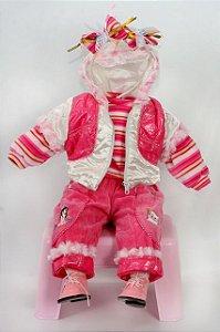 Roupinha Boneca Little Children 217B menina