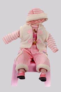 Roupinha Boneca Little Children 027A menina