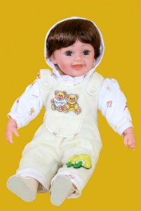 Boneca Importada Little Children 601 menino