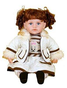 Boneca Importada Little Children 034C menina