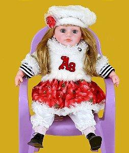 Boneca Importada Little Children PREMIUM 074 menina