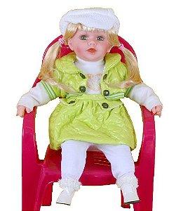 Boneca Importada Little Children PREMIUM 119 menina