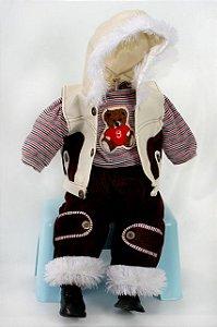 Roupinha Boneca Little Children menino 182