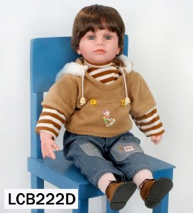 Boneca Importada Little Children 222D menino