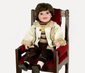 Boneca Importada Little Children 601Z menino