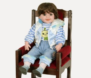 Boneca Importada Little Children 601Q menino