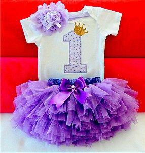 vestido festa infantil 1 ano princesa