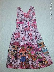 vestido festa tema infantil menina