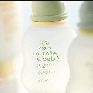 Água de Colônia Sem Álcool Mamãe e Bebê
