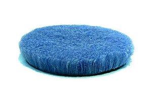 """Boina de Lã com Espuma Azul Hybrid Wool Corte 6"""" - Lake Country"""