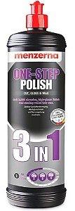 One-Step Polish 3 em 1 Corte, Lustro e Cera 1L - Menzerna