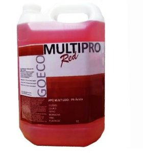 APC MULTIPRO RED - Limpador Multiuso Ácido 5LT - Go Eco Wash