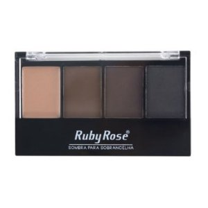 Trio de sombra para Sobrancelha com primer - Ruby Rose HB9354